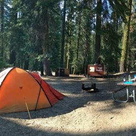 Unsere Campsite